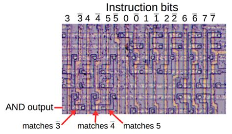 Sony Tc 500a Wiring Diagram by Part Of The 8008 S Decode Pla The Three