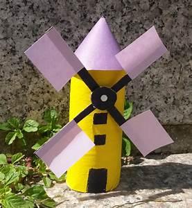 Moulin A Vent Enfant : un moulin en carton ~ Melissatoandfro.com Idées de Décoration