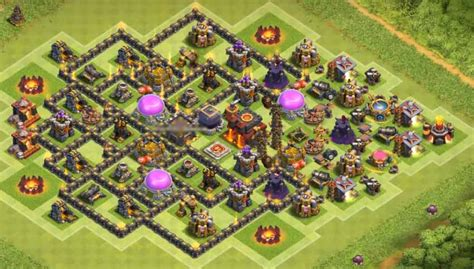 10 best th8 hybrid base 9 best coc th8 hybrid bases with bomb tower 2016 2017 10 b