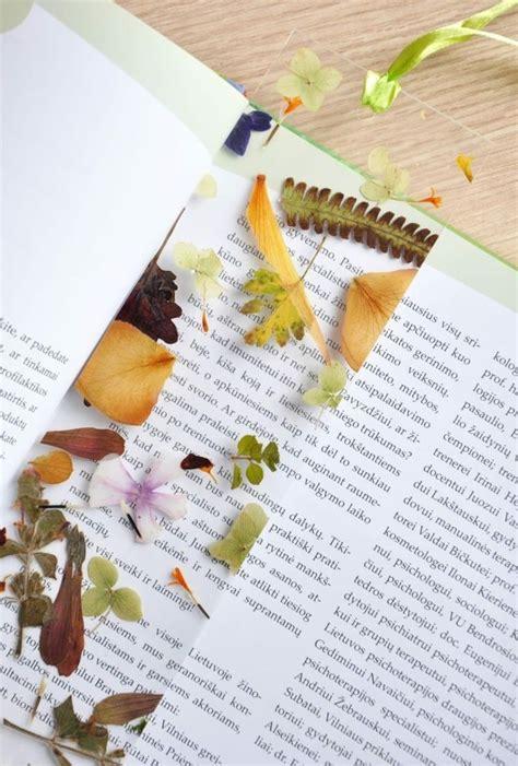 Blätter Pressen Wie Lange by Laminierte Gepresste Blumen In Form Eines Lesezeichens