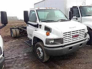 2009 Gmc Topkick C4500 Medium Duty Cab  U0026 Chassis Truck Being Dismantled