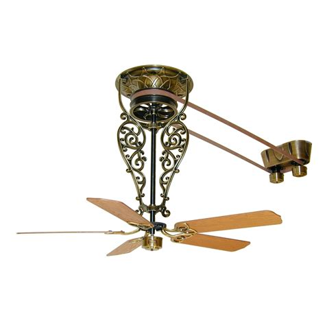 antique looking ceiling fans fanimation fp520ab bourbon street collection old time belt