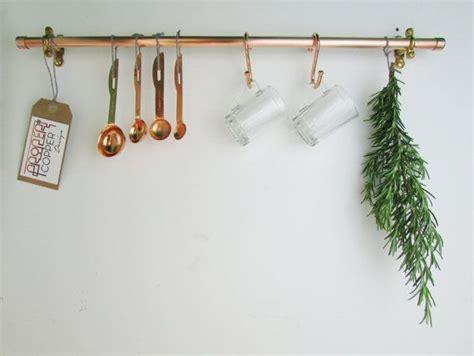 Kitchen Pot Hanging Rail by 1000 Ideas About Pan Rack On Pot Racks Wall
