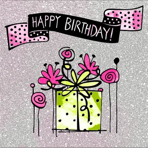 Happy Birthday Animated Clip Animated Happy Birthday Clipart Collection