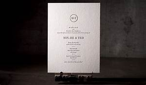 modern wedding invitations no 12165 boxcar press With letterpress wedding invitations hong kong