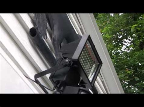 bunker hill security 60 led solar security light review