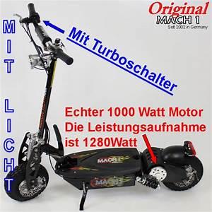 Scooter Roller Elektro : 1000 watt mach1 e scooter elektroscooter elektro roller ebay ~ Jslefanu.com Haus und Dekorationen