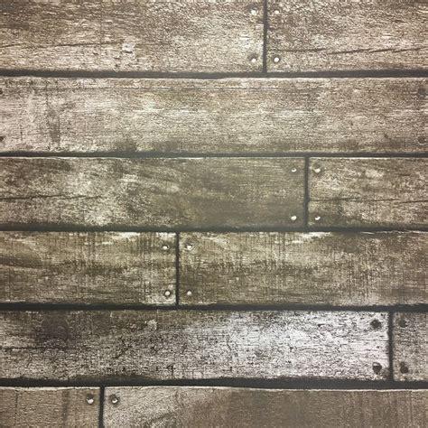 fine decor wooden plank wallpaper   trend