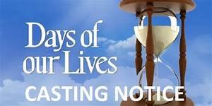 U002639days Of Our Livesu002639 Dool News Casting Call For Six New