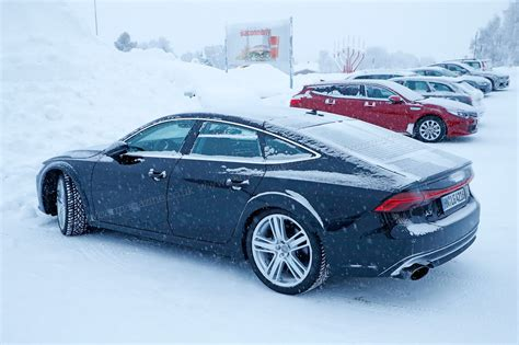 2018 Audi Rs 7 by Audi Rs7 2019 Brute In A Suit Gets Snowy