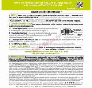 Offre De Remboursement : offre de remboursement odr krups machine nescaf ~ Carolinahurricanesstore.com Idées de Décoration