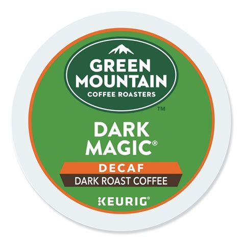 If you are looking for a beautiful medium roast blend, then this is for you. Green Mountain Coffee Decaf Dark Magic, 24ct K-Cup for Keurig Brewers(packaging may vary ...