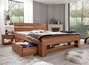 Welche Farbe Zu Kernbuche : schlafzimmer sofie 3 180 mit bett 180 cm kleiderschrank 3 trg kernbuche massiv ge lt ~ Markanthonyermac.com Haus und Dekorationen