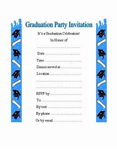 Graduation Party Invitation Clipart (42+)