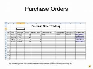 introto excel With purchase order tracking template excel