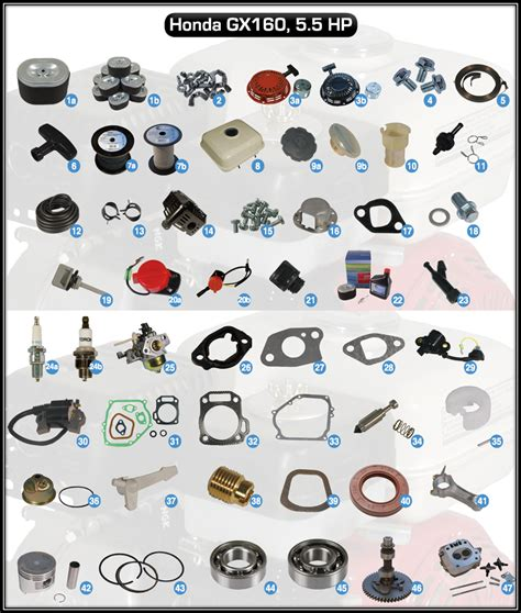 Replacement Parts For Honda Small Engines Pro Dealer