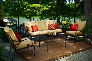 Salon De Jardin En Fer : mobilier jardin fer forge maison design ~ Teatrodelosmanantiales.com Idées de Décoration