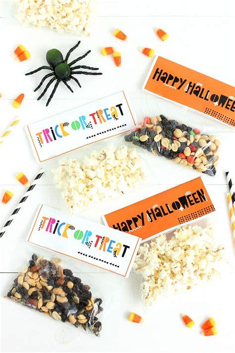 alice  loishalloween snack bag toppers  printable