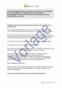 Einverständniserklärung Muster Datenschutz : vorschriften bei einer umfrage datenschutz 2018 ~ Themetempest.com Abrechnung