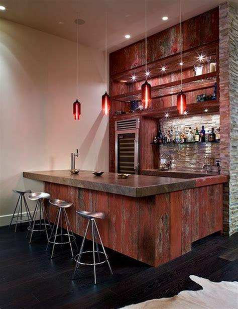 interieur placard cuisine le tabouret de bar industriel apporte une touche déco dans