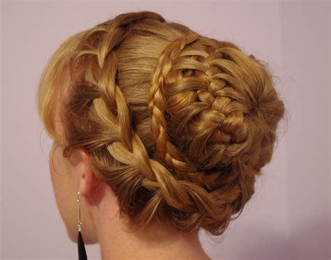 braided hair bun styles braids hairstyles for hair fancy braided bun