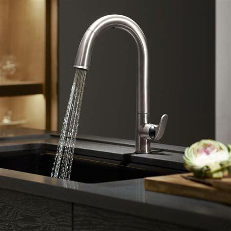 designer kitchen faucets kohler k 72218 vs sensate touchless kitchen faucet