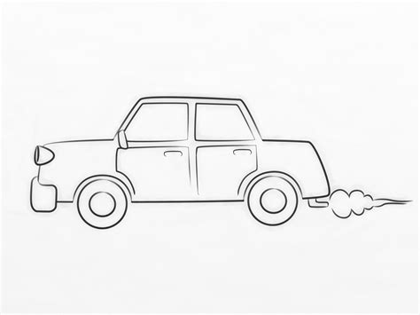 cartoon car drawing how to draw a cartoon car 8 steps with pictures wikihow