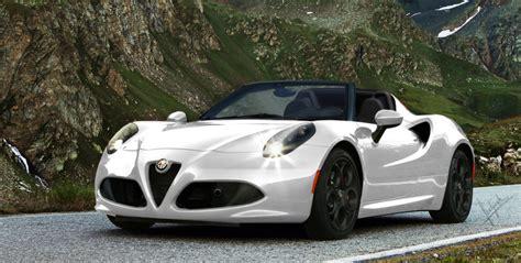 2016 Alfa Romeo 4c Spider Wallpapers