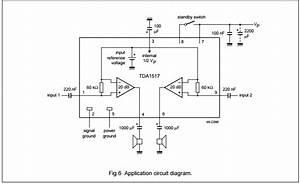 Tda1517 2 X 6 W Stereo Power Amplifier Circuit Board Ic Ic Circuit Board
