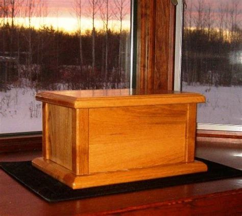 wood cremation urn box plans   build wood cremation urns