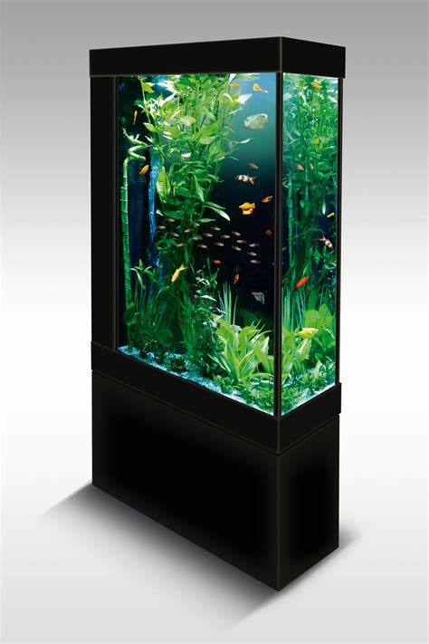 d 233 coration aquarium colonne