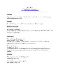 resume for internship sles resume in interior design industry sales interior design lewesmr