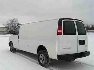 Purchase Used 2004 Gmc Savana 3500 Extended Cargo Van 6 0