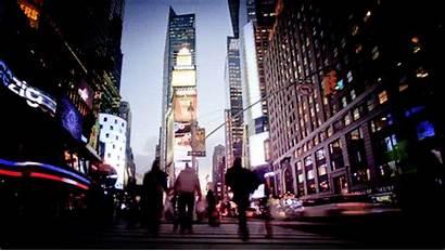 Travel Gifs Tv Giphy York Lights America