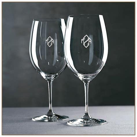 personalized wine glasses bulk