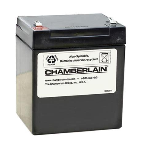 garage door opener battery shop chamberlain garage door battery at lowes