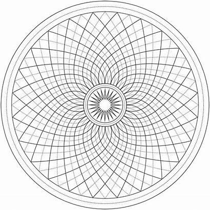 Coloring Mandala Pages Argyle Mandalas Fractal Patterns