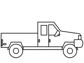 coloring page of truck download