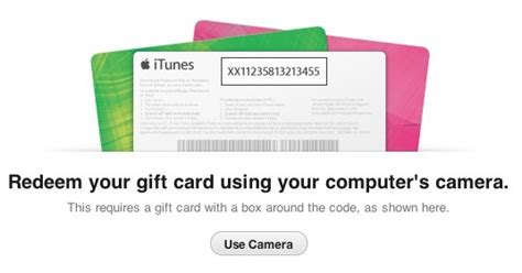 itunes  store adds gift card redemption  camera mac