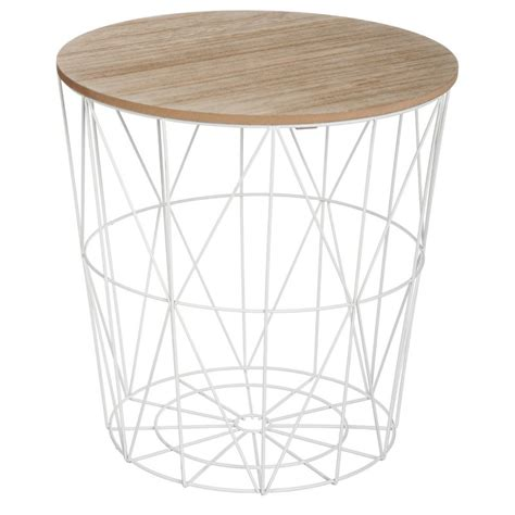 table de cuisine d appoint table d 39 appoint design quot kumi quot 41cm blanc