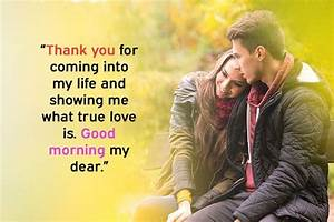 Cute Good Morning Messages For Her (Girlfriend or Wife)