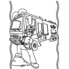 firefighter coloring pages  printables momjunction