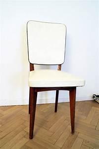 Chaise à Bascule Pas Cher : chaise vintage scandinave blanche et bois pas cher luckyfind ~ Teatrodelosmanantiales.com Idées de Décoration