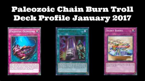 Modern Burn Deck 2017 by Paleozoic Chain Burn Troll Deck Profile January 2017