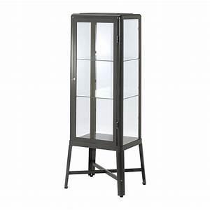 Vitrine Metall Glas : fabrik r vitrine gris fonc ikea ~ Whattoseeinmadrid.com Haus und Dekorationen