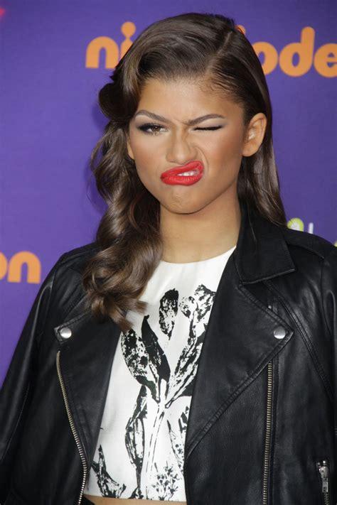 ZENDAYA COLEMAN at Nickelodeon Halo Awards 2014 in New ...