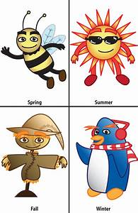Four Seasons Clip Art - Cliparts.co