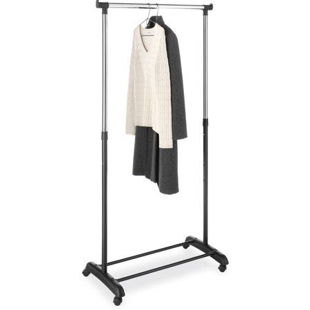 laundry rack walmart whitmor adjustable garment rack chrome black walmart