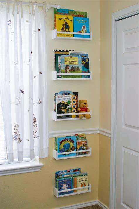 4 ikea spice racks turned bookshelves striving for
