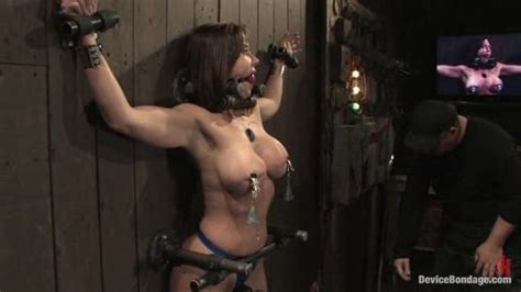 Busty Supergirl Gets Fixed In A Bdsm Device On The Wall And Jeered Badly Porn Video At Xxx
